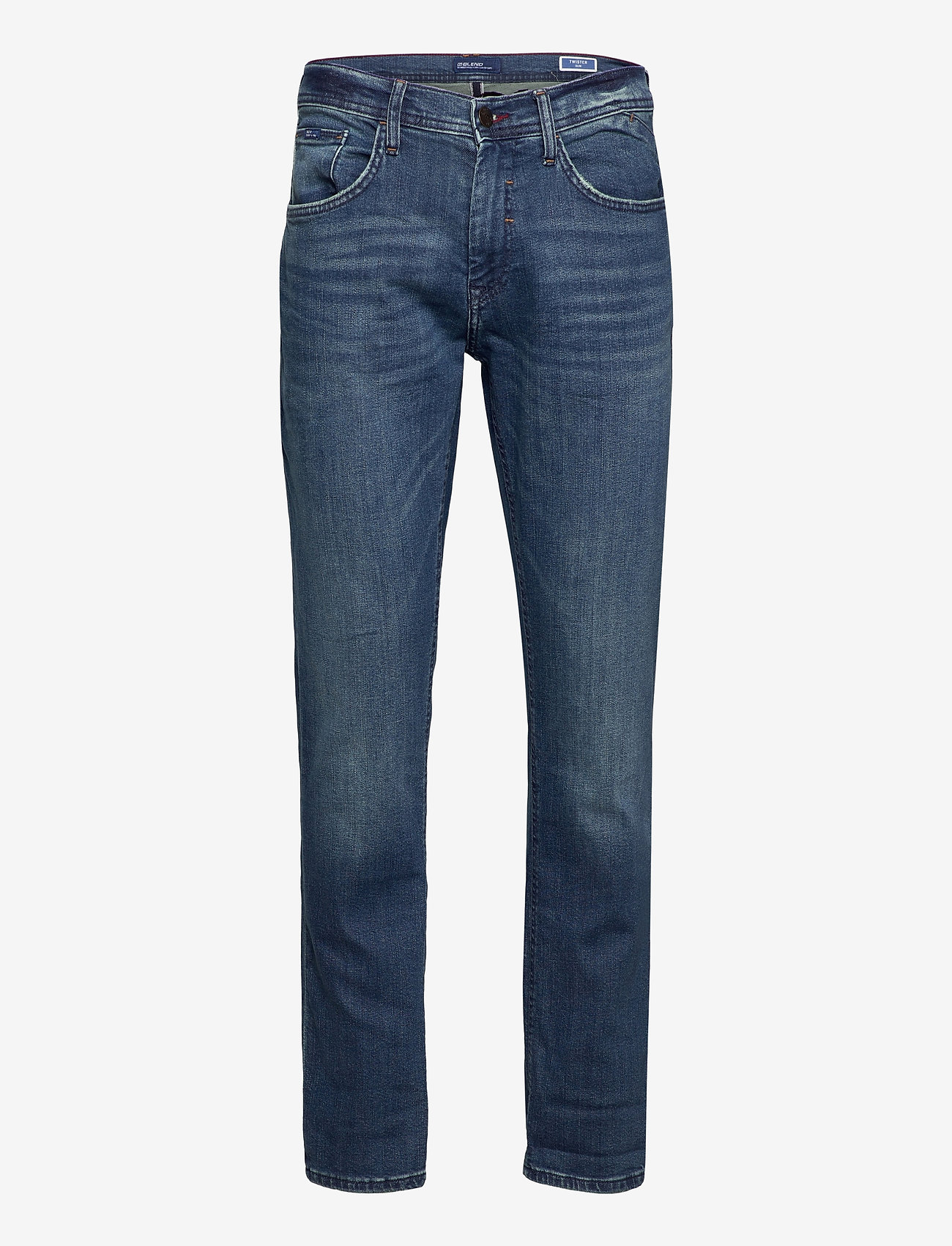 Blend Jeans - Clean - Jeans DENIM MIDDLE BLUE - Menn Klær