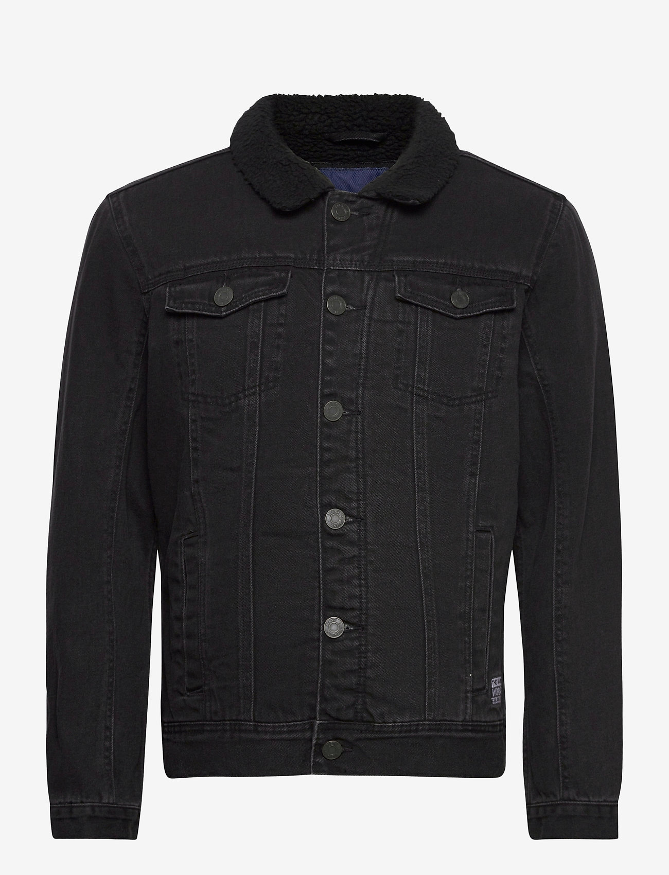 Blend - Outerwear - denim jackets - denim black - 0