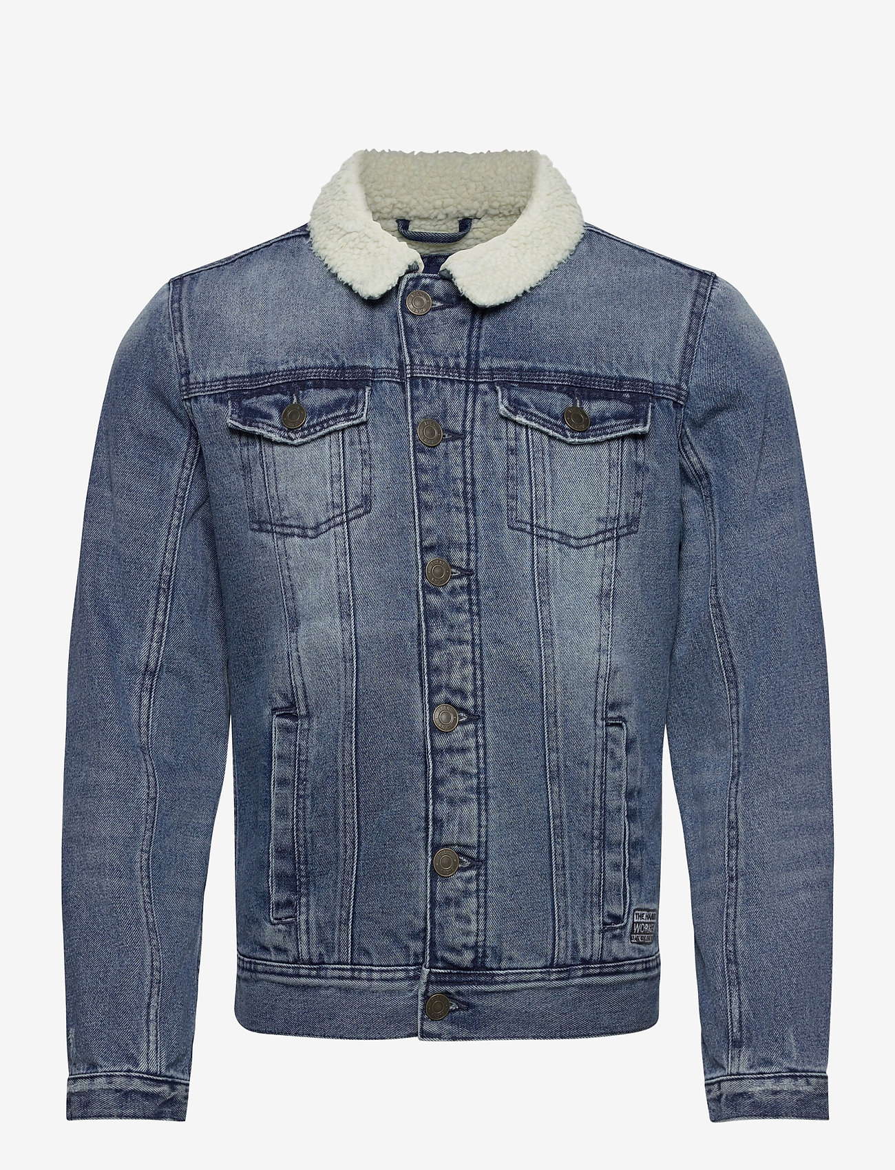 Blend - Outerwear - denim jackets - denim middle blue - 0