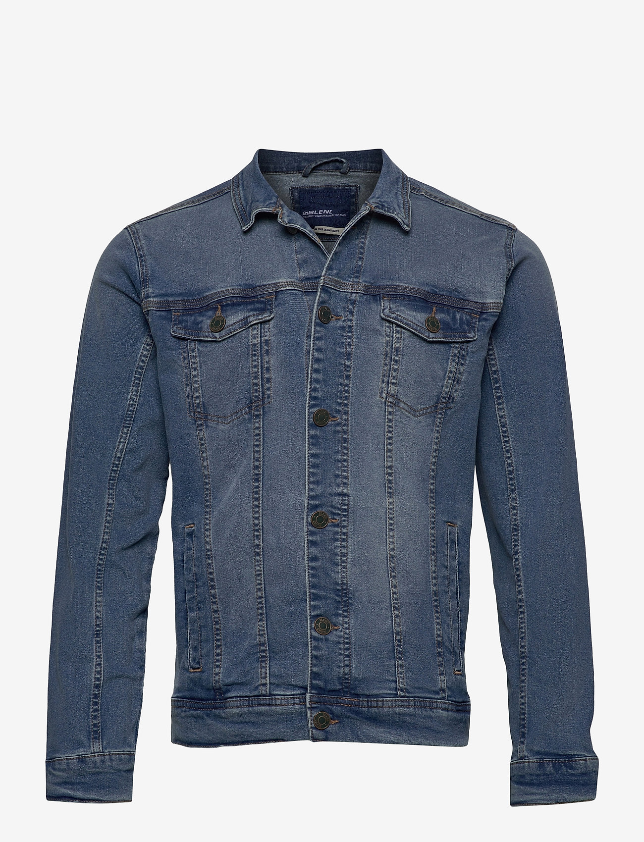 Blend - Outerwear - NOOS - spijkerjassen - denim middle blue - 0