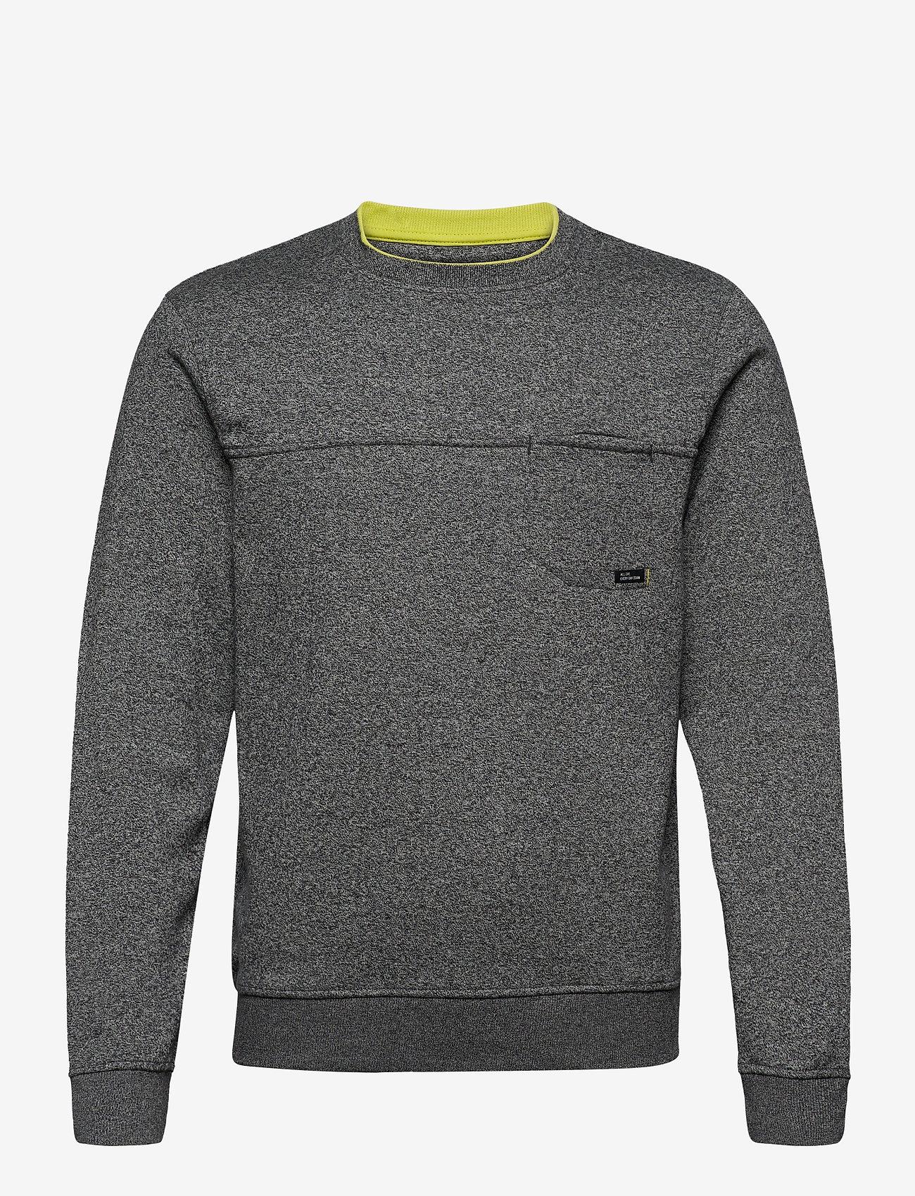 Blend - Sweatshirt - basic sweatshirts - charcoal mix - 0