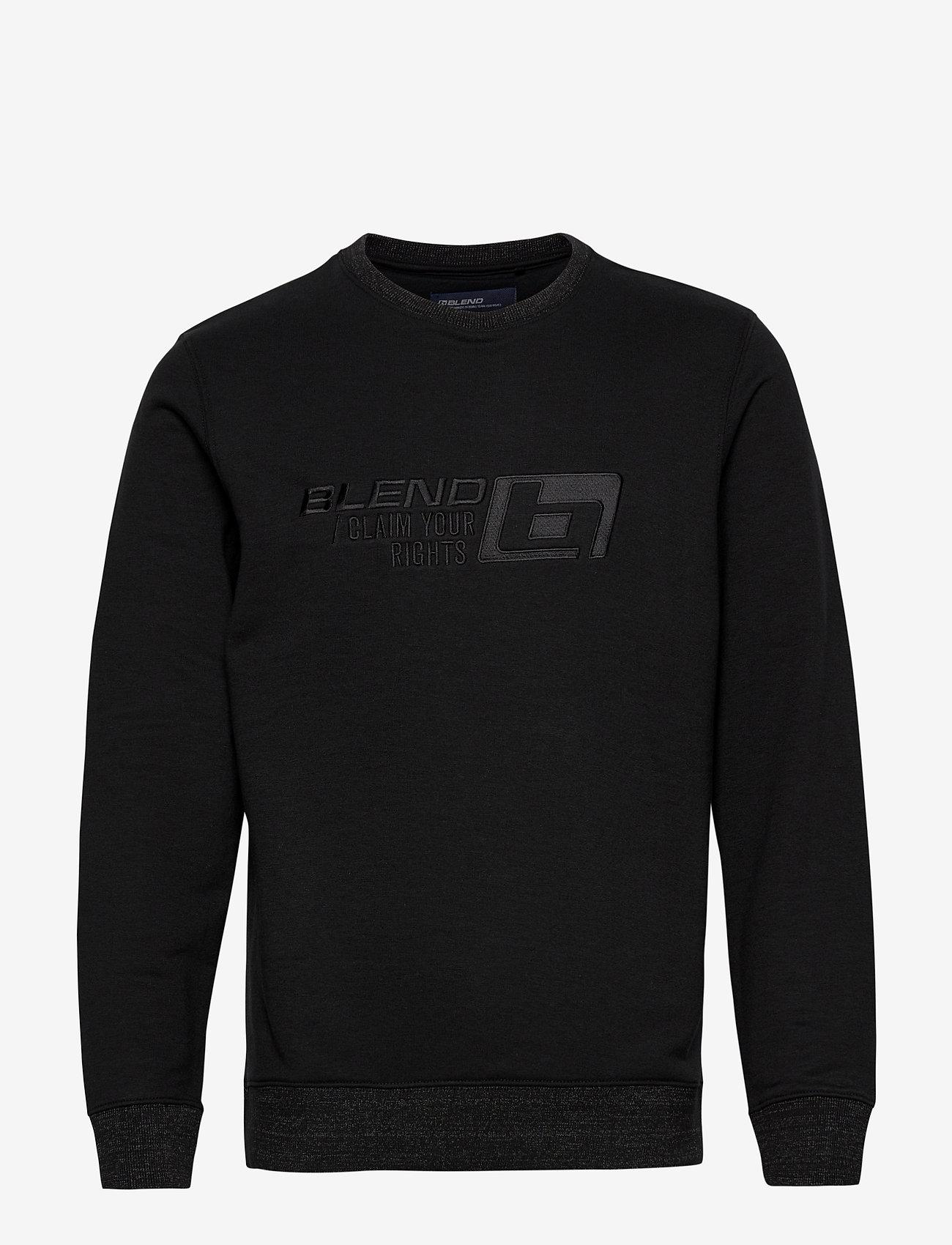Blend - Sweatshirt - yläosat - black - 0
