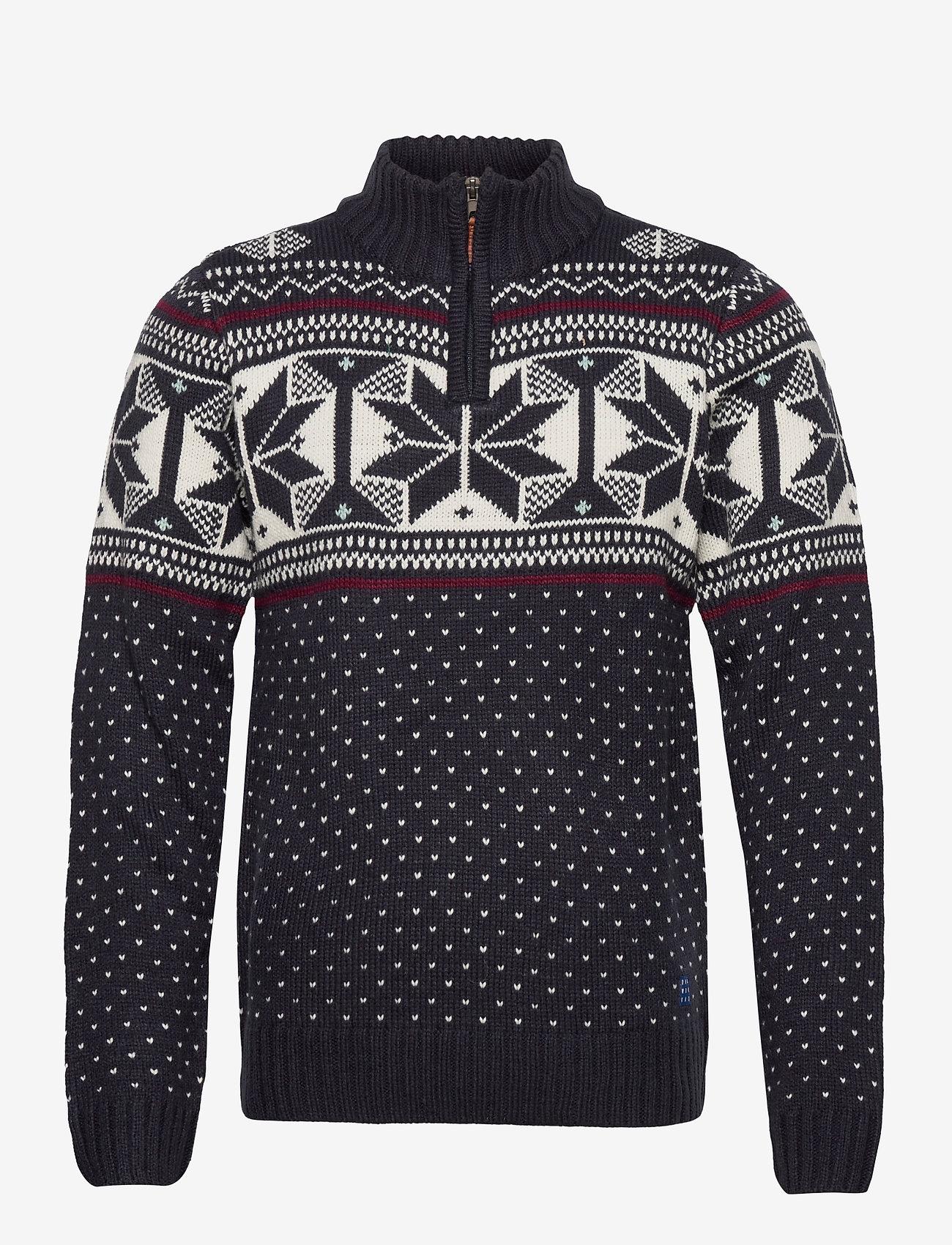 Blend - Pullover - half zip - dark navy - 0