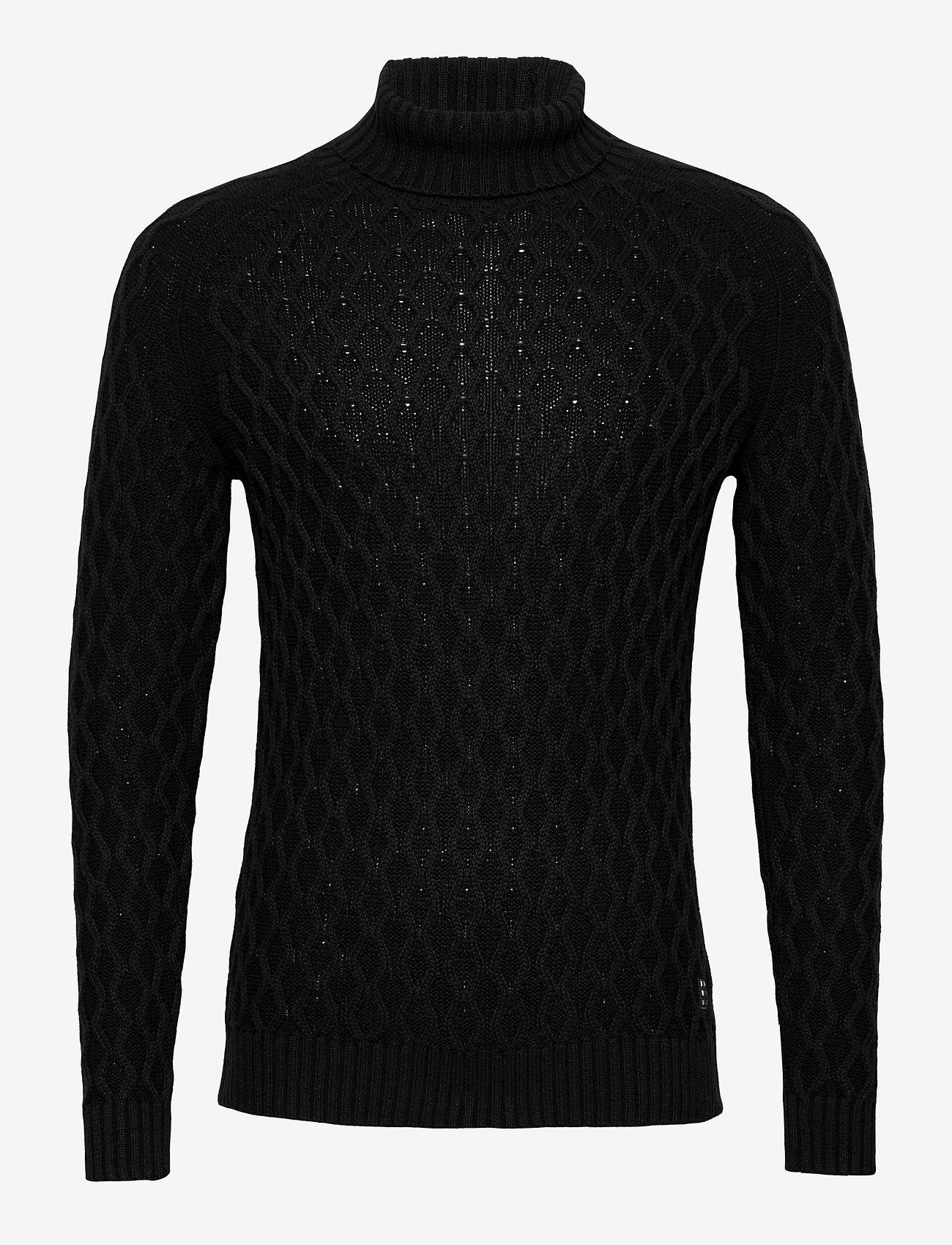 Blend - Pullover - stickade basplagg - black - 0