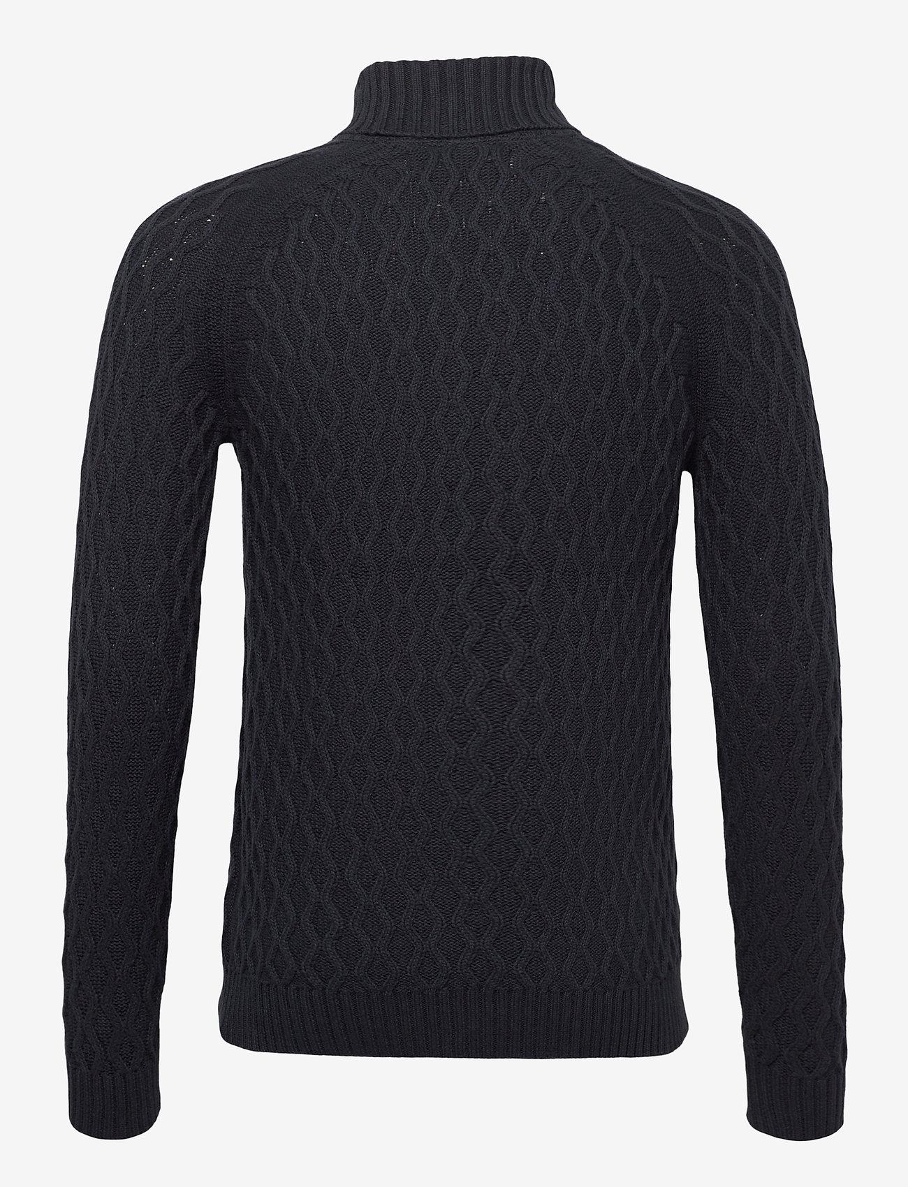 Blend - Pullover - basic gebreide truien - dark navy - 1