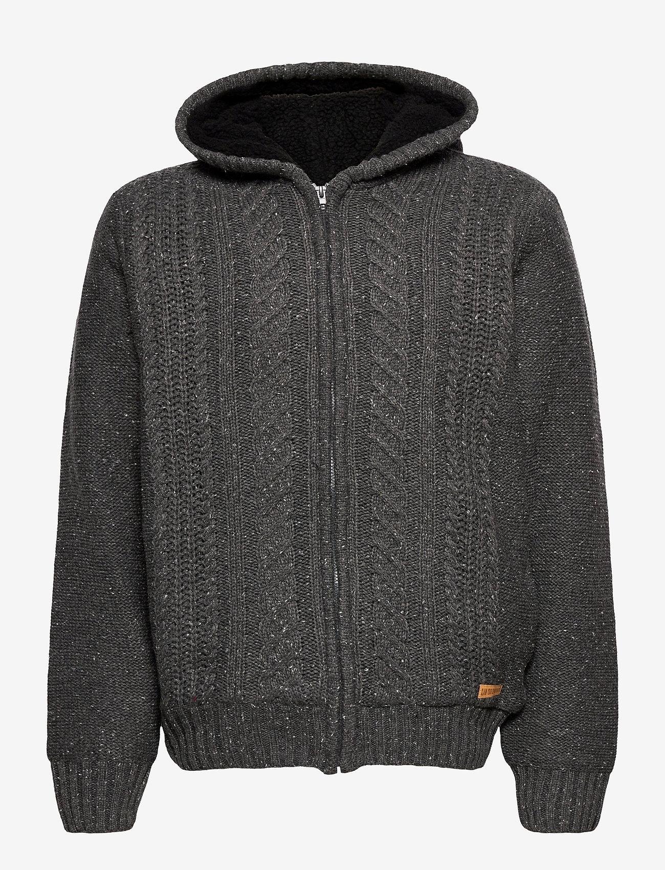 Blend - Cardigan - basic knitwear - pewter mix - 0
