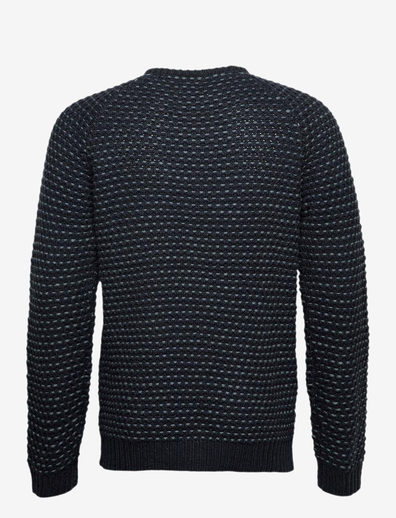 Blend - Pullover Ambitious - knitted round necks - dark navy - 1