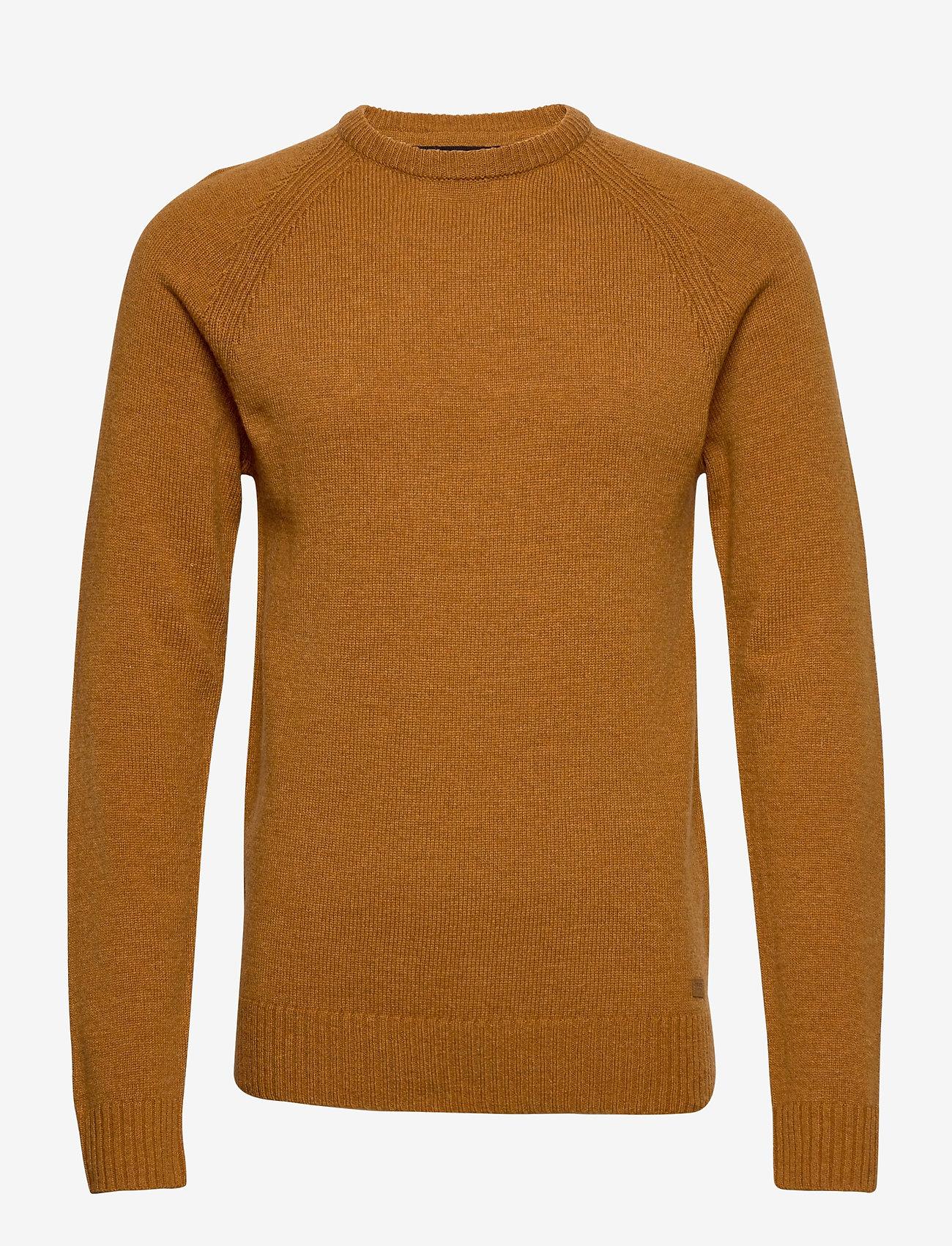 Blend - Pullover Ambitious - stickade basplagg - sudan brown - 0