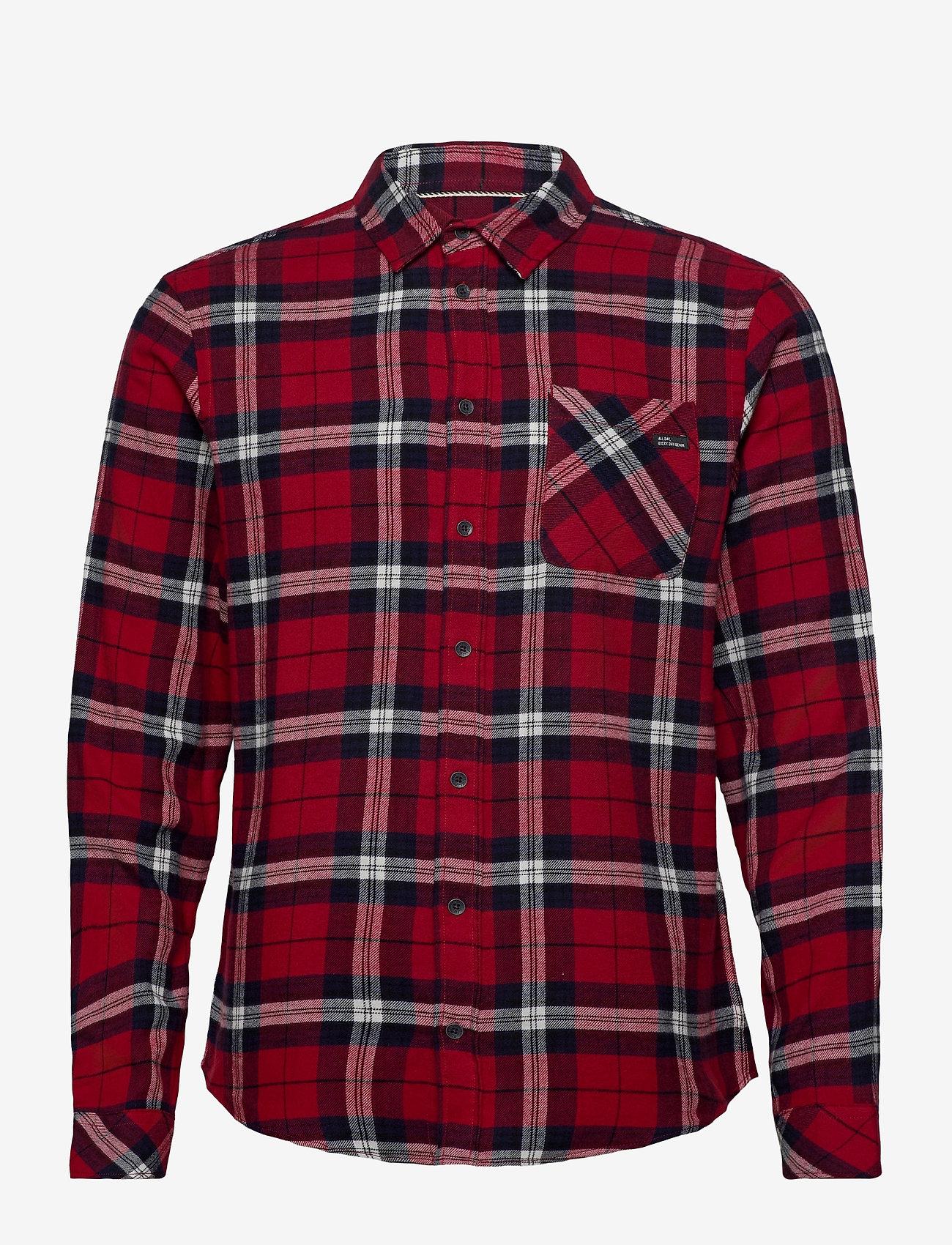 Blend - Shirt - koszule w kratkę - chili pepper - 0