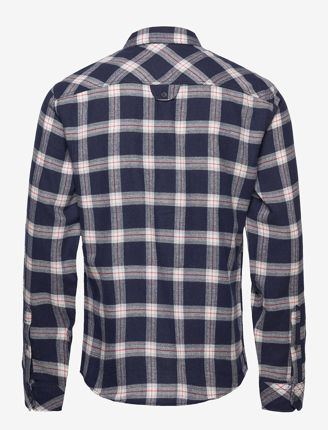 Blend - Shirt - chemises à carreaux - dark navy - 1