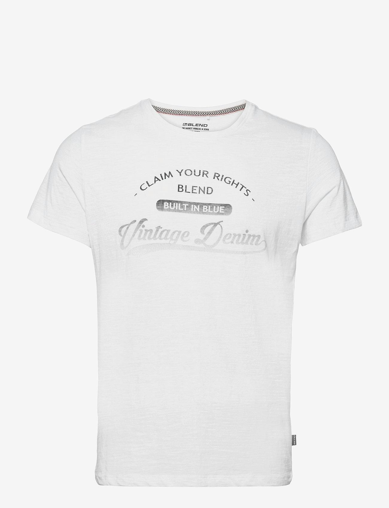 Blend - Tee - t-shirts à manches courtes - bright white - 0