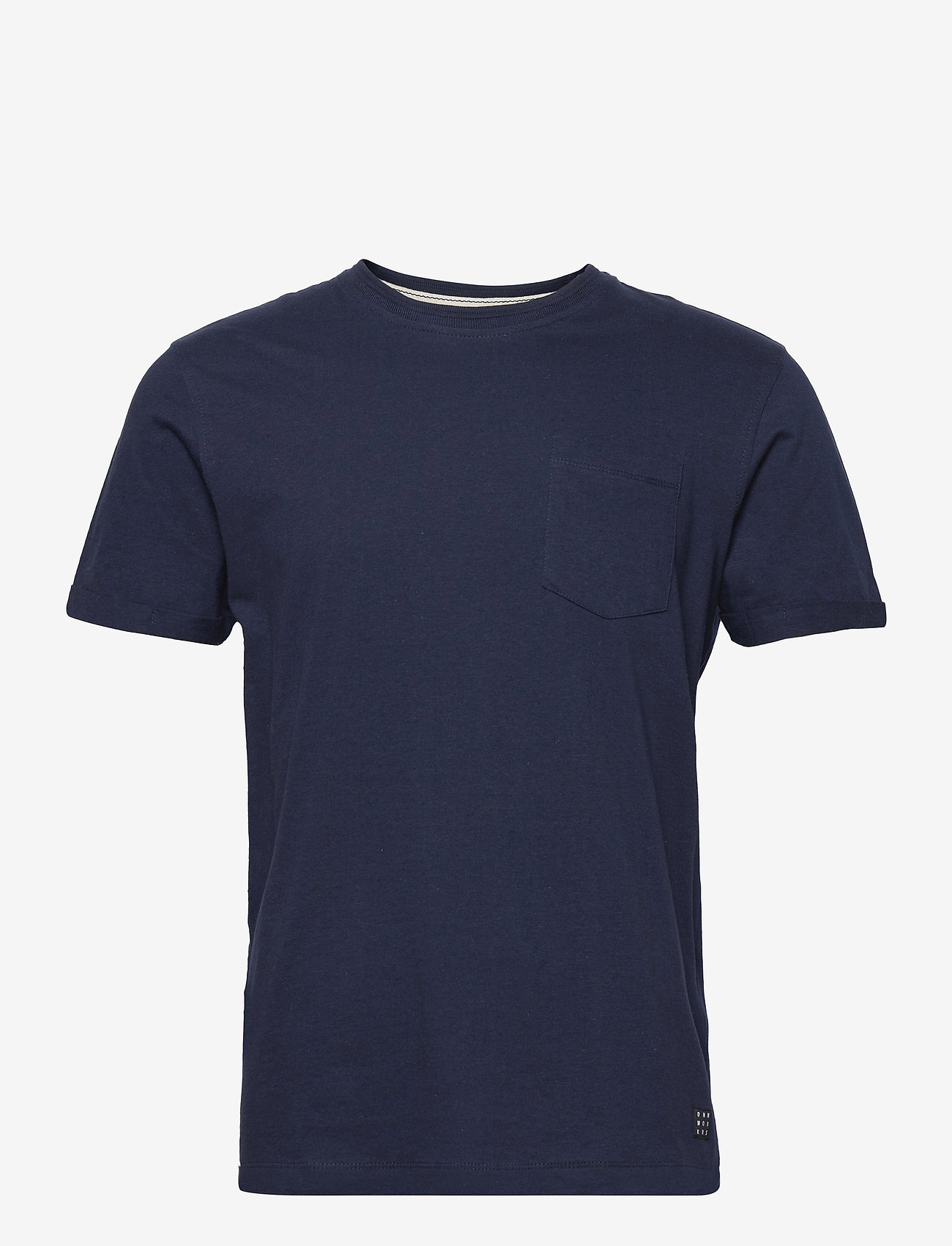 Blend - Tee - Organic - basic t-shirts - dress blues - 0