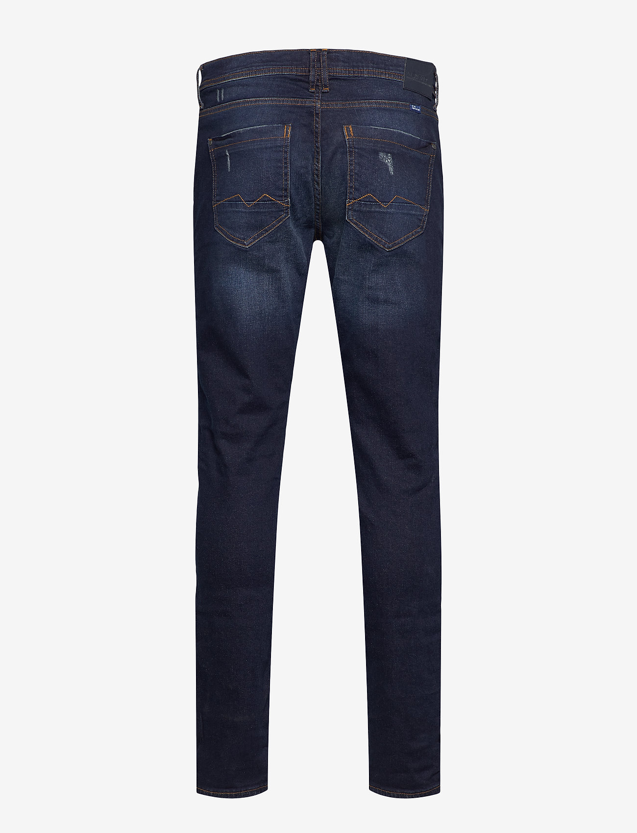 Blend - Jet fit - Scratches - regular jeans - denim dark blue - 1