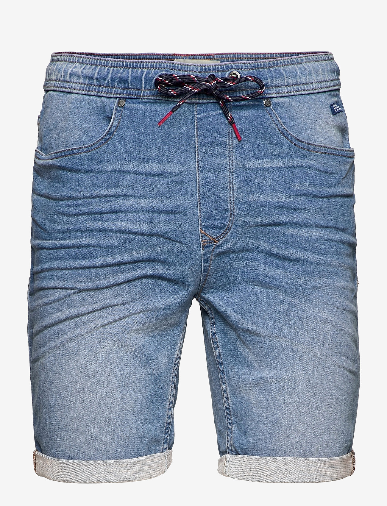 Blend - Denim Jogg shorts - denim shorts - denim middle blue - 0