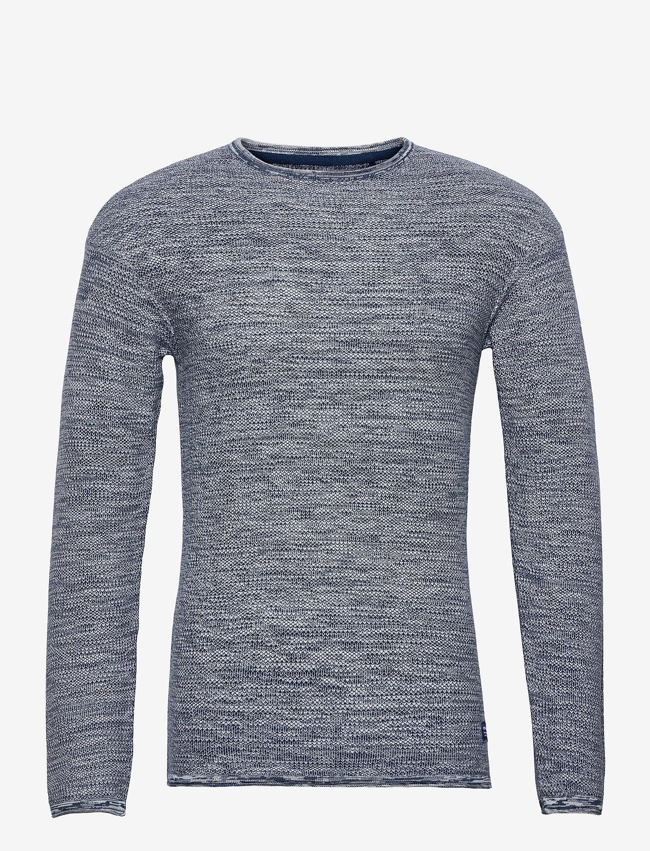 Blend - Pullover - podstawowa odzież z dzianiny - dark denim - 0