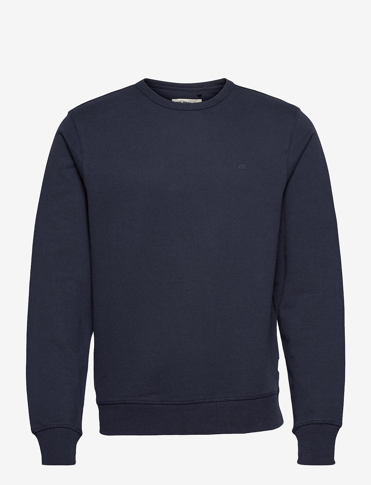 Blend - Sweatshirt - basic sweatshirts - dress blues - 0