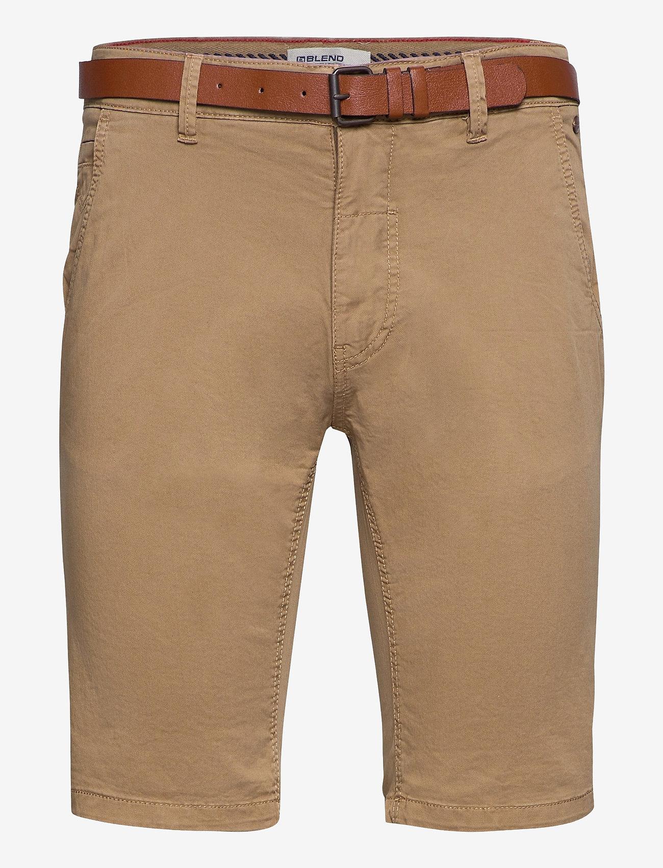 Blend - Shorts - chinos shorts - lead gray - 0
