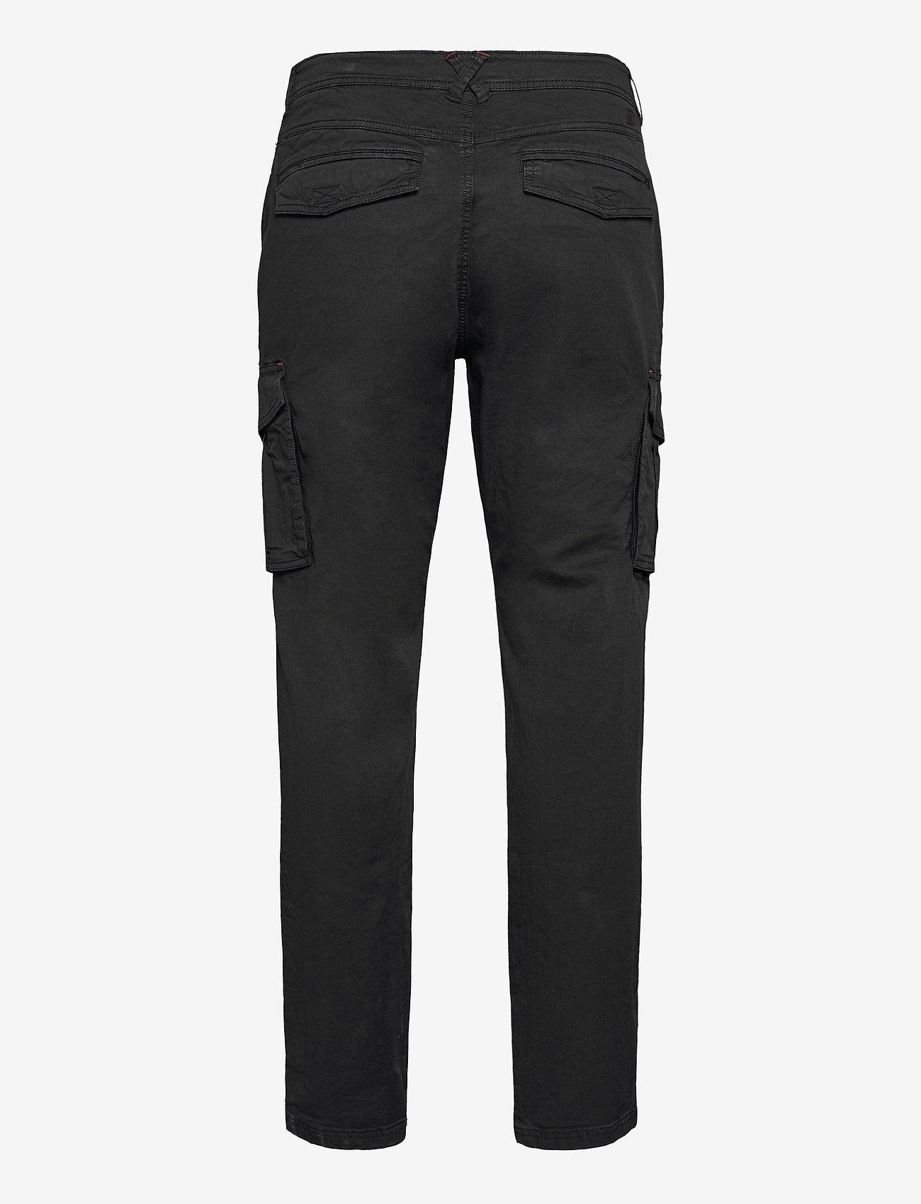 Blend - Pants - cargobukser - black - 1