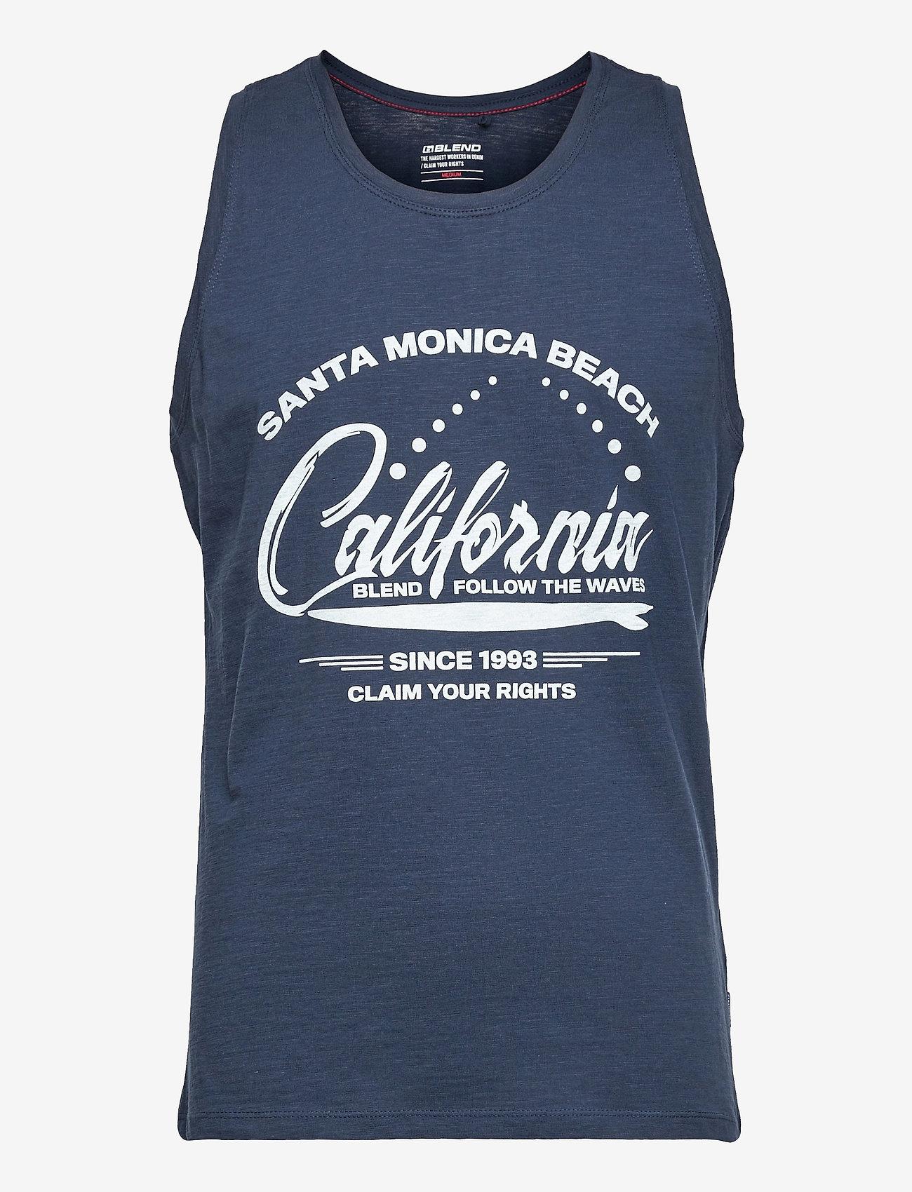 Blend - Tanktop - mouwenloze t-shirts - dress blues - 0