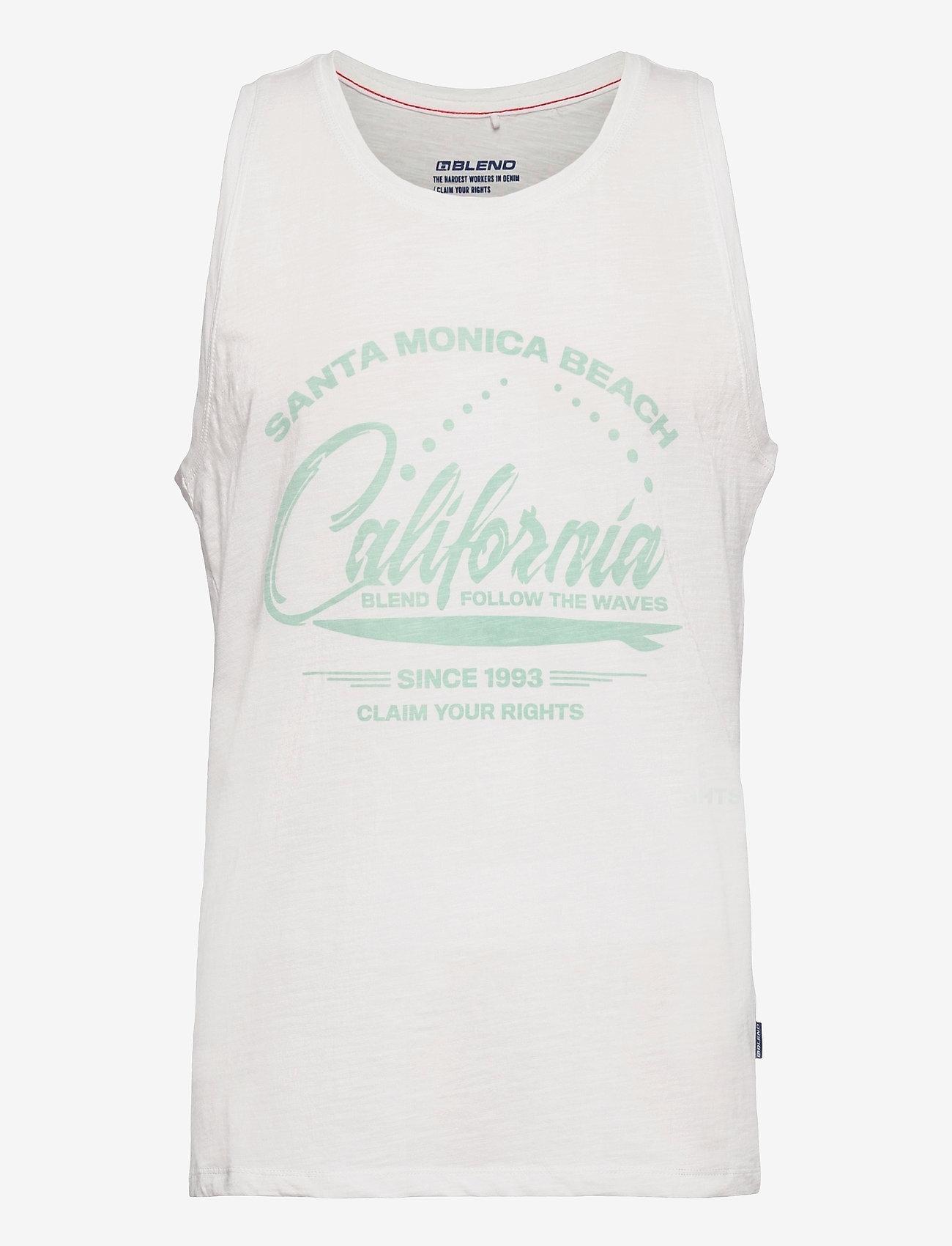 Blend - Tanktop - mouwenloze t-shirts - snow white - 0