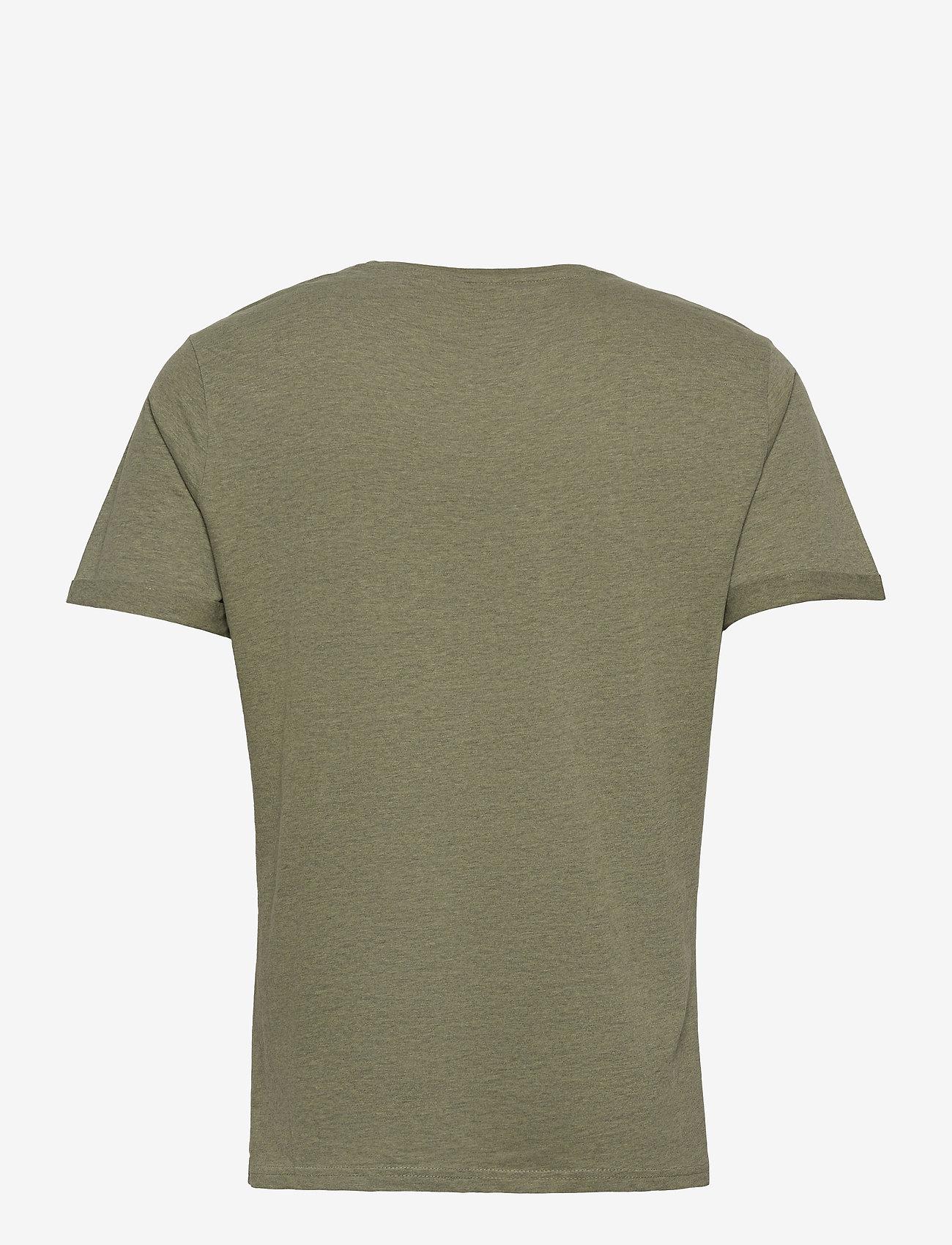 Blend - Tee - t-shirts basiques - oil green - 1