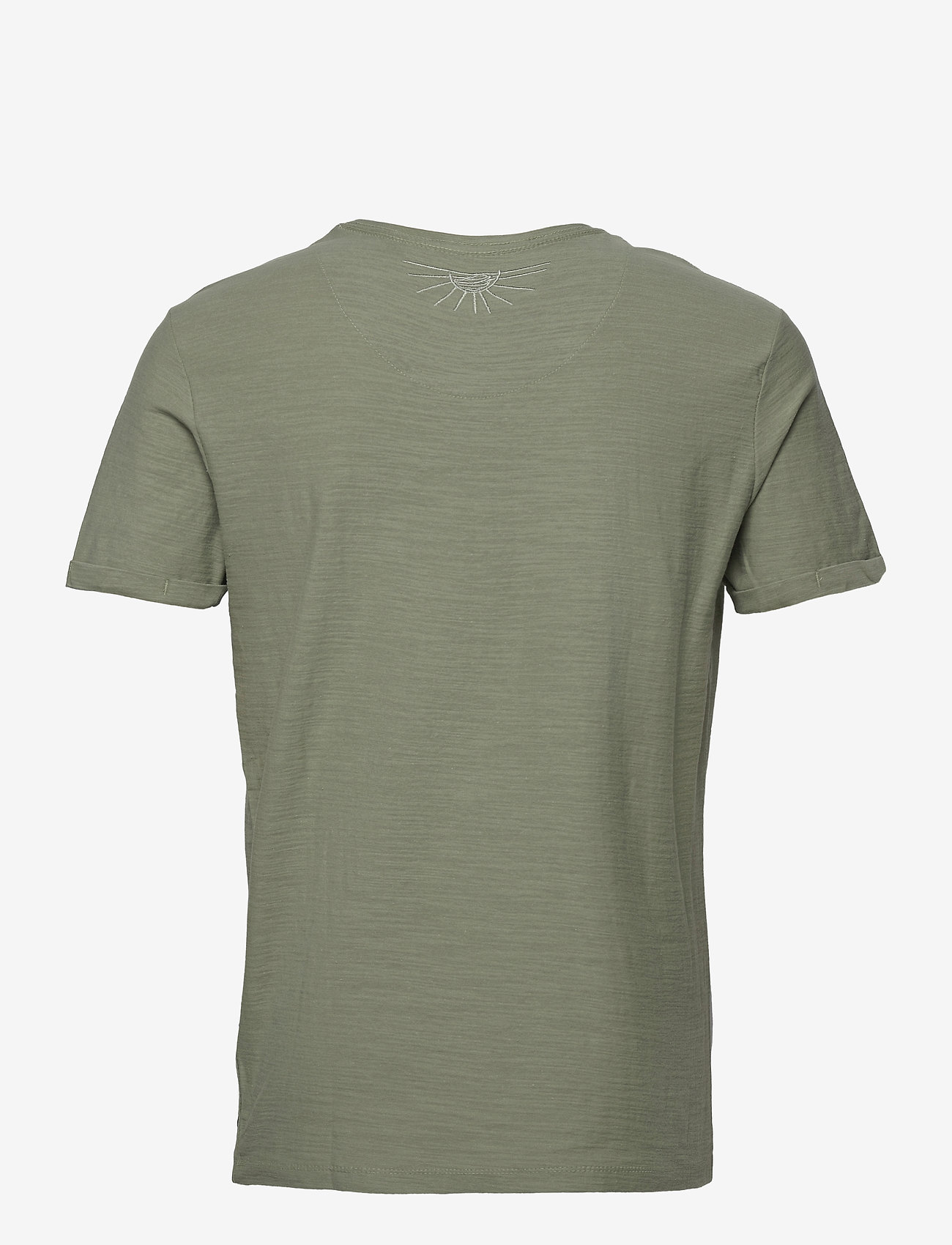 Blend - Tee - basic t-shirts - oil green - 1