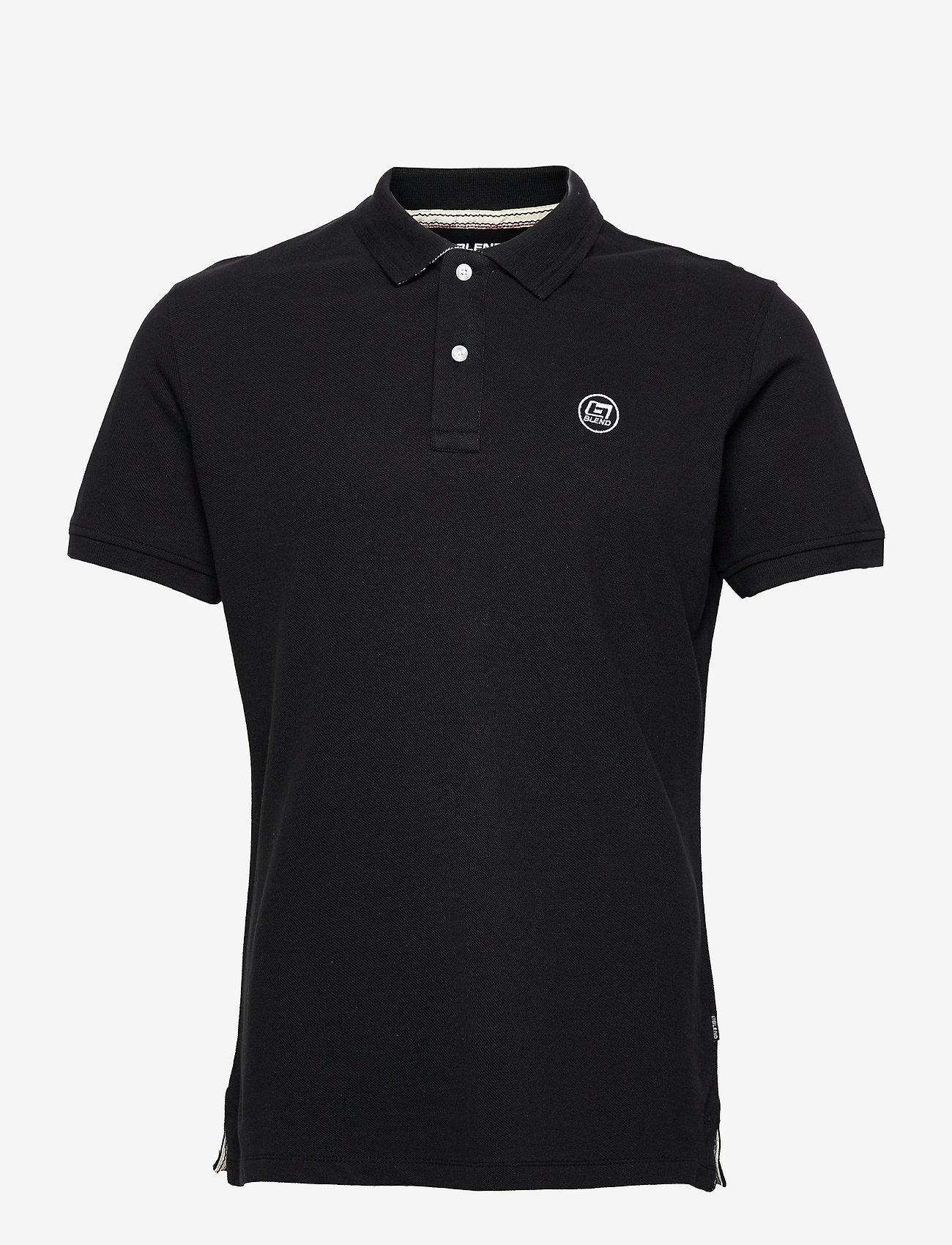 Blend - Poloshirt - poloshirts - black - 0