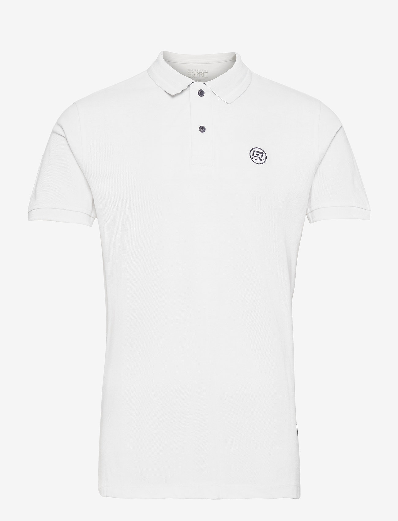 Blend - Poloshirt - krótki rękaw - bright white - 0