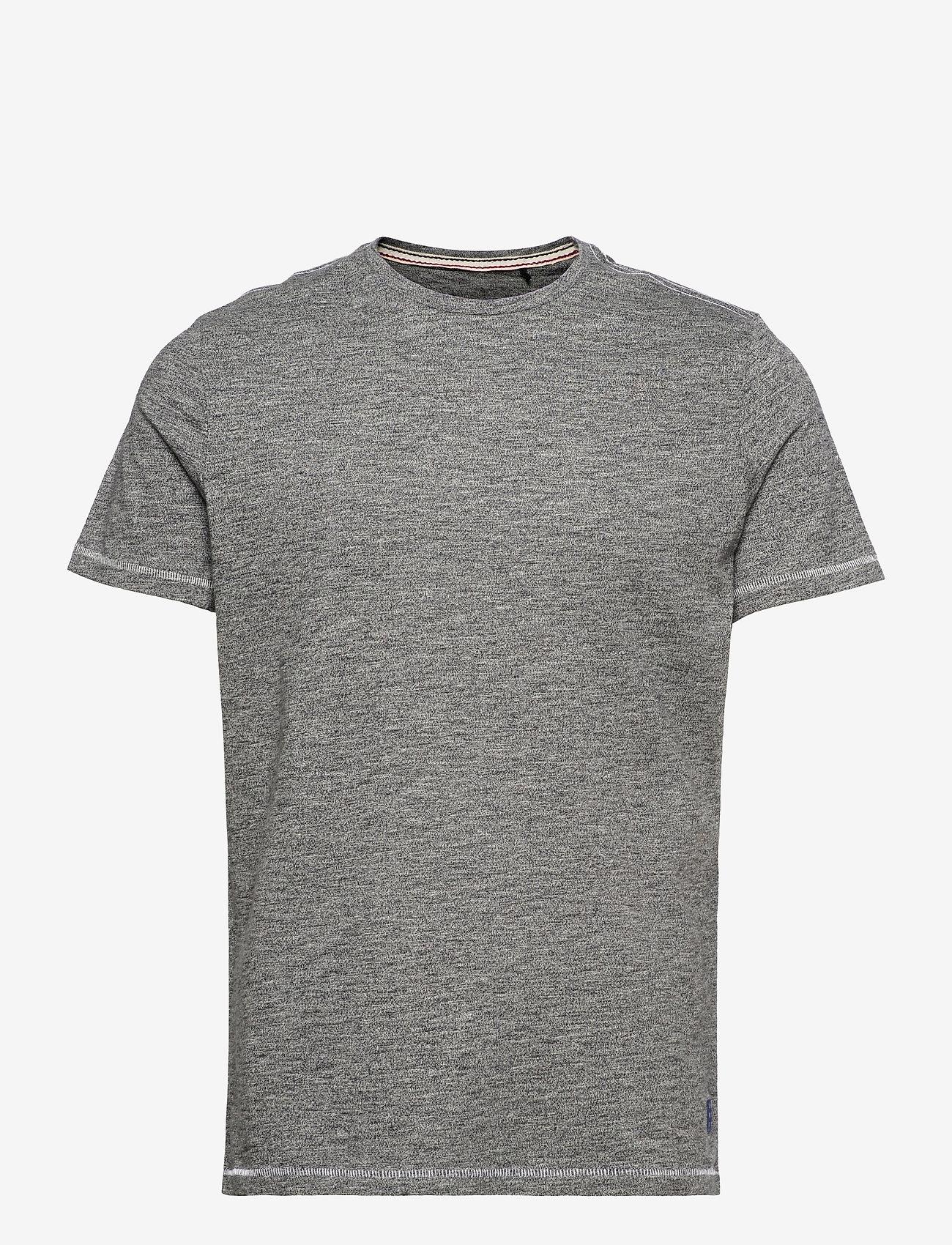 Blend - Tee - basic t-shirts - black - 0