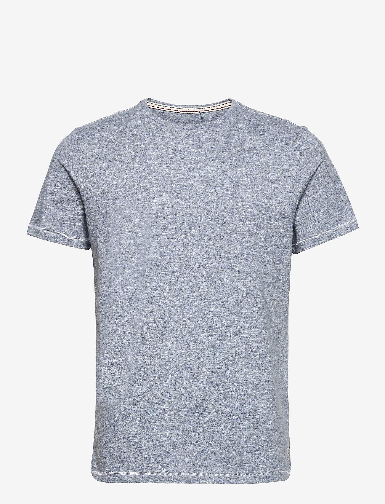 Blend - Tee - basic t-shirts - moonlight blue - 0
