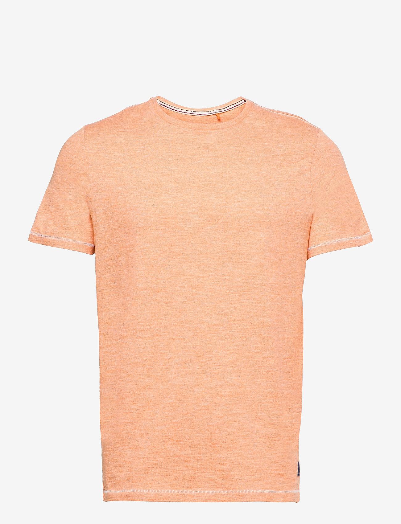 Blend - Tee - basic t-shirts - muskmelon - 0