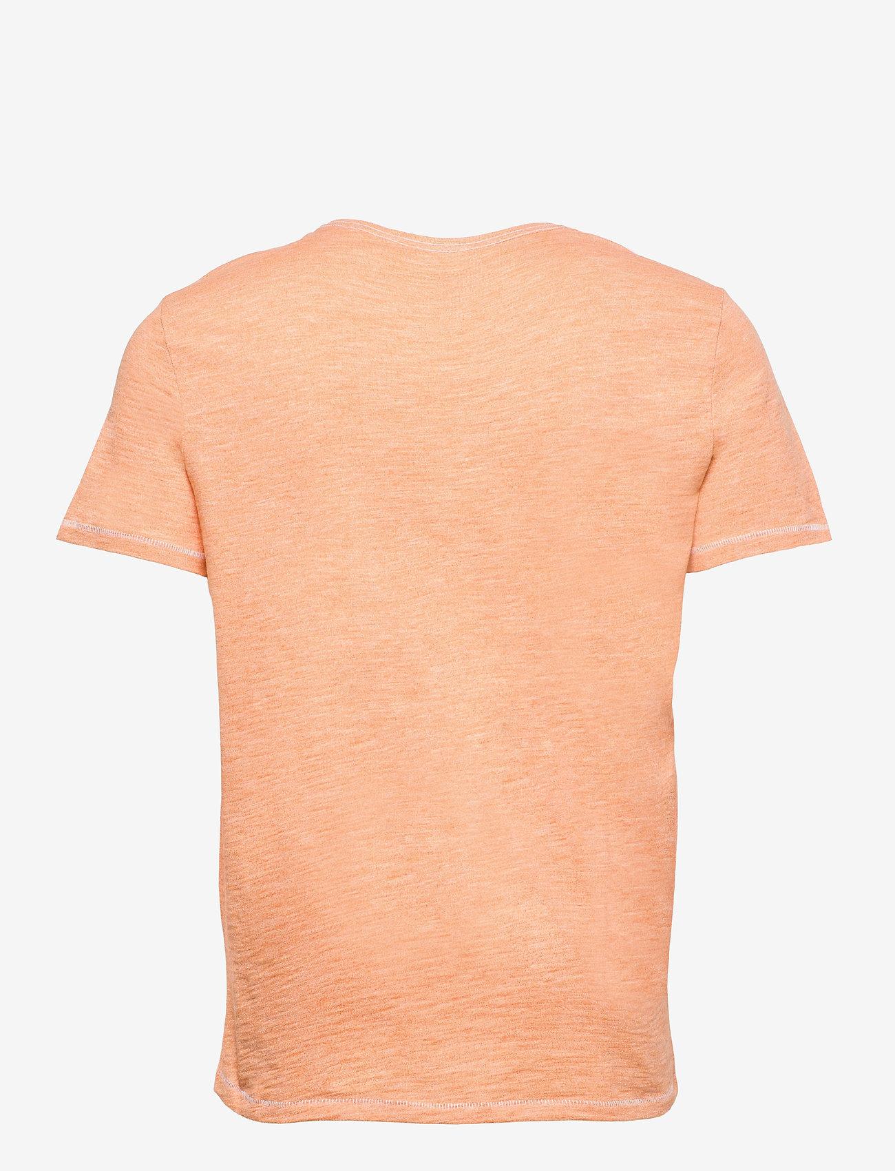 Blend - Tee - basic t-shirts - muskmelon - 1
