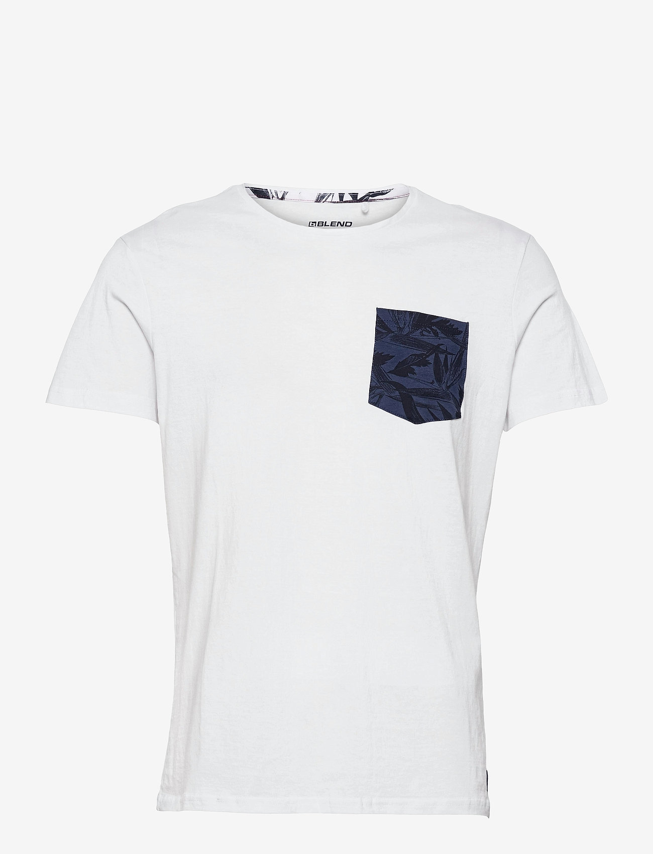Blend - Tee - basic t-shirts - bright white - 0