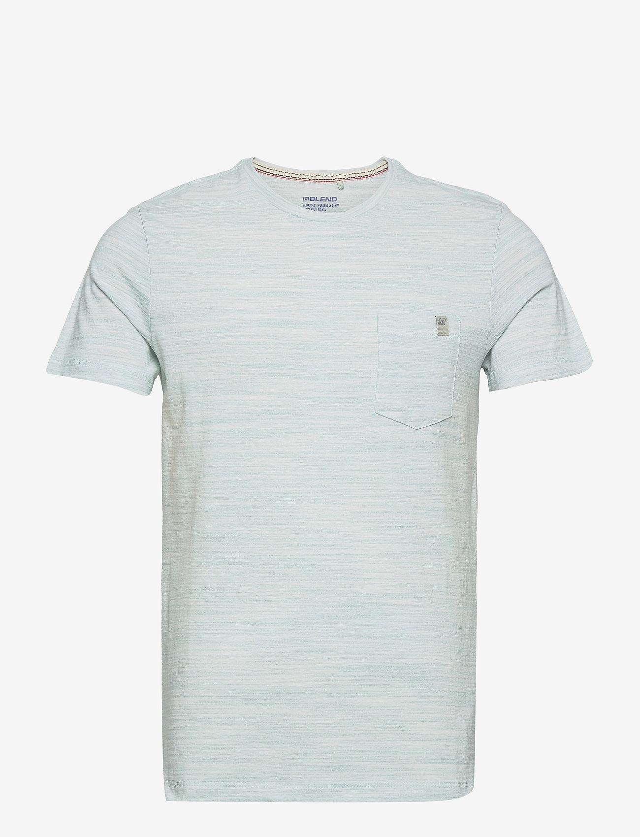 Blend - Tee - basic t-shirts - pastel turquoise - 0