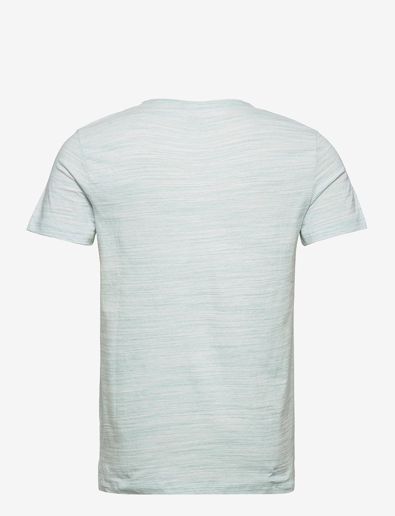 Blend - Tee - basic t-shirts - pastel turquoise - 1