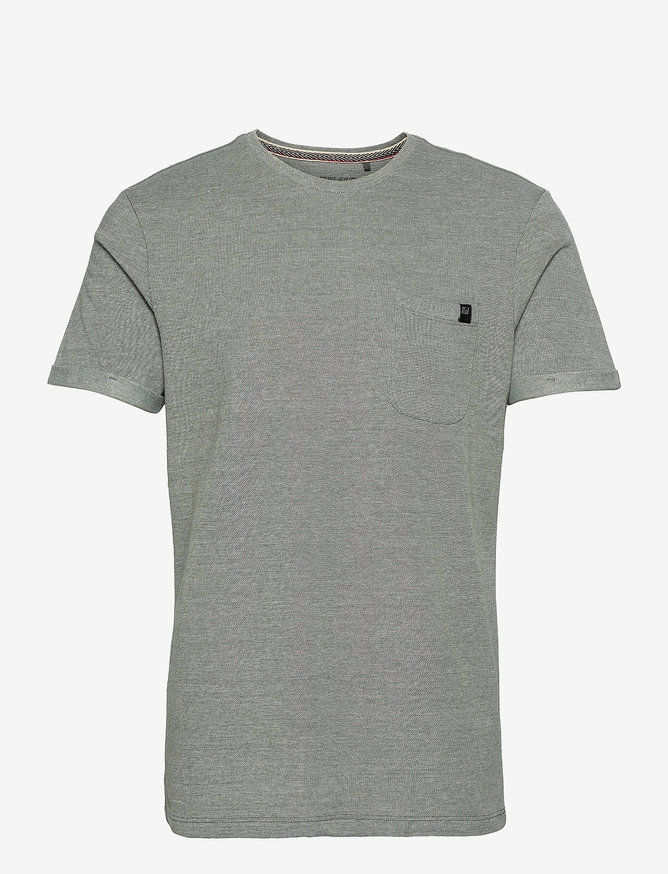 Blend - Tee - basic t-shirts - thyme - 0