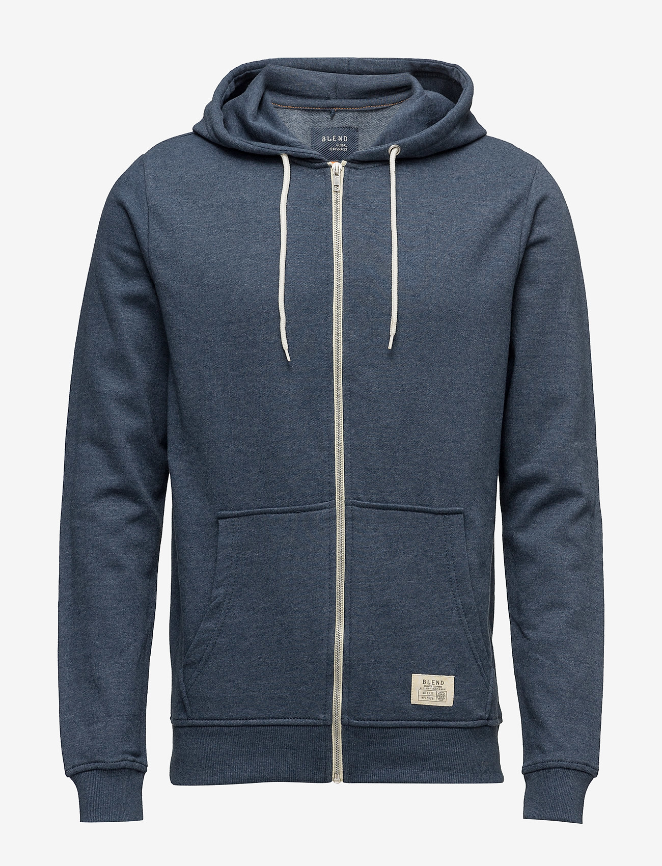 Blend - BHNOAH sweatshirt - hoodies - ensign blue - 0