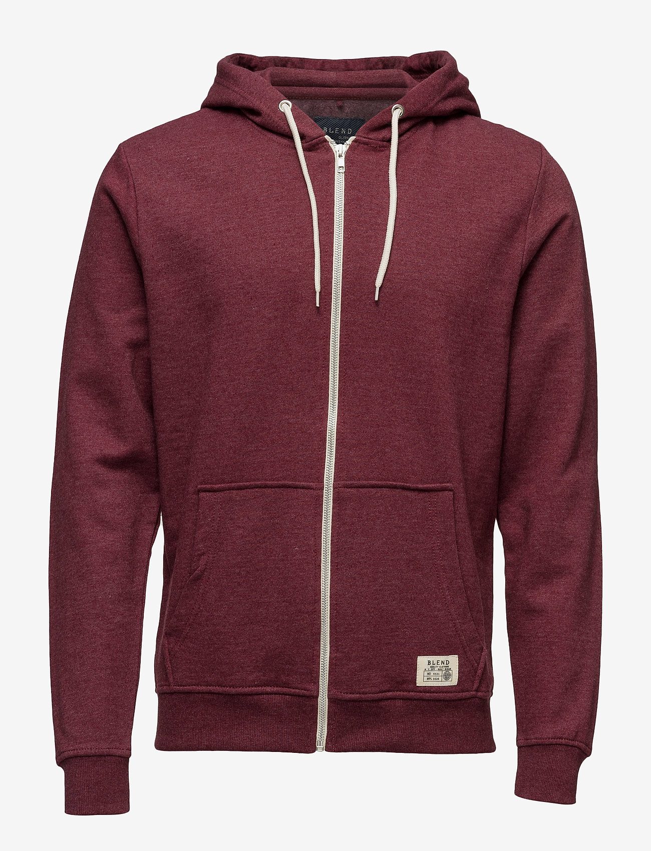 Blend - BHNOAH sweatshirt - hoodies - zinfandel - 0