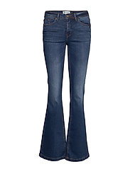 BSWINT BRIGHT FLARED JE - INDIGO BLUE WASHED