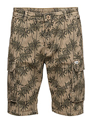 Non denim shorts - SAFARI BROWN