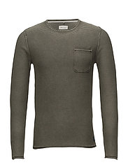 Pullover - DUSTY GREEN