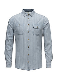Shirt - STEEL BLUE