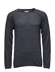 BHNELSON pullover NOOS - ENSIGN BLUE