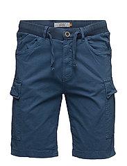 Non denim shorts - ENSIGN BLUE