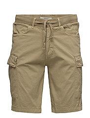 Non denim shorts - SAFARI BROWN