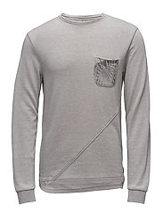 Sweatshirt - DRIZZLE GREY