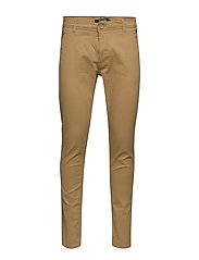 BHNATAN pants NOOS - SAND BROWN