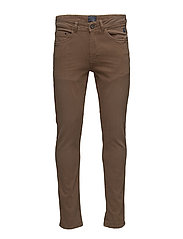 Pants - MOCCA BROWN