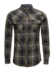 Shirt - BURNT OLIVE