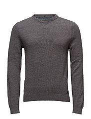 Pullover Slim fit - PEWTER MIX